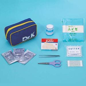 救急セットDr.K(ベルトポーチ型)(防災用品 救護用品 救急セット)|bousaikeikaku
