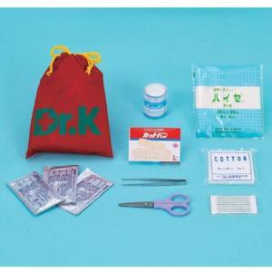 救急セットDr.K(巾着型)(防災用品 救護用品 救急セット)|bousaikeikaku