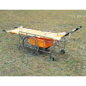 レスキューカー 折りたたみ式救護車(防災グッズ 搬送用品 救護用品)|bousaikeikaku