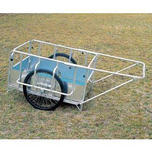 アルミ製折りたたみ式リヤカー(防災グッズ 搬送用品 救護用品)|bousaikeikaku