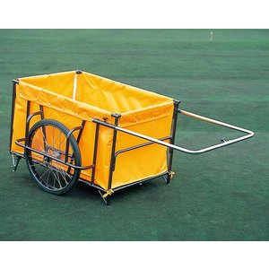スチール製折りたたみ式リヤカー(防災グッズ 搬送用品 救護用品)|bousaikeikaku