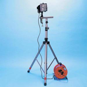 ハロゲン投光機セット(防災用品 避難生活 停電対策)|bousaikeikaku