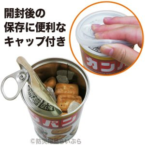 非常食 カンパン サンリツ 缶入り(100g)...の詳細画像1