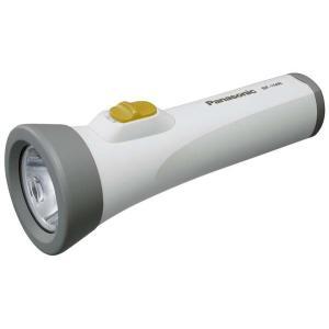 LED懐中電灯 パナソニック エボルタ付き BF-158BK-W(防災用品 停電対策 LEDライト)|bousaikeikaku