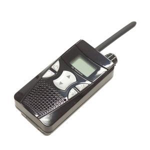 ラジオ付特定小省電力トランシーバー TCV-01 ブラック (防災用品 防災グッズ)|bousaikeikaku