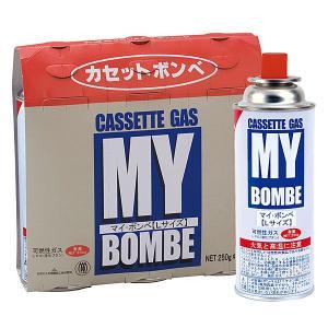 カセットボンベ マイ・ボンベL 250g 48本(3本パック×16)|bousaikeikaku