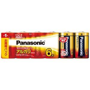 パナソニック アルカリ乾電池 単1形 6本パック LR20XJ/6SW(Panasonic 単1電池 10年保存)|bousaikeikaku