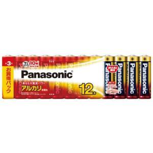 パナソニック アルカリ乾電池 単3形 12本パック LR6XJ/12SW(Panasonic 単3電池 10年保存)|bousaikeikaku