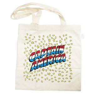 キャプテン・アメリカ:エコマーク付きコットンバッグ/ロゴ/メンズ&レディース/ファッション エコバッグ|boushikaban