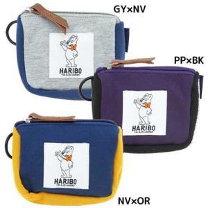 HARIBO(ハリボー):スウェットミニポーチ/バイカラー/メンズ&レディース/ファッション バッグ 雑貨|boushikaban