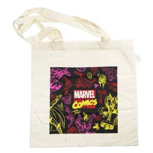 MARVEL(マーベル):エコマーク付きコットンバッグ/ロゴ/メンズ&レディース/ファッション エコバッグ|boushikaban