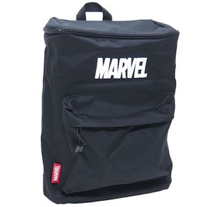 MARVEL(マーベル):ボックス型リュック/ロゴ刺繍/メンズ&レディース/ファッション バッグ デイパック バックパック|boushikaban