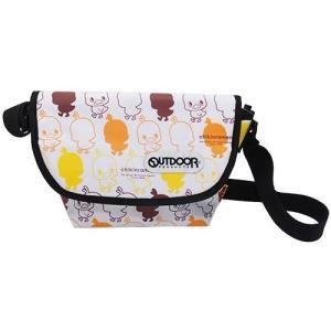 OUTDOOR(アウトドア)×チキンラーメン ひよこちゃん:メッセンジャーバッグ/メンズ&レディース/ファッション バッグ|boushikaban
