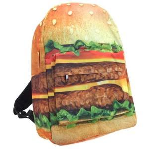 フォトプリントデイパック/ハンバーガー/メンズ&レディース/ファッション バッグ リュック バックパック|boushikaban