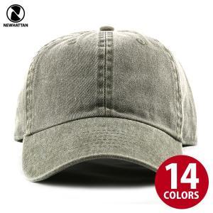 NEWHATTAN(ニューハッタン):ピグメント ベースボール キャップ/メンズ&レディース/ファッション 帽子|boushikaban