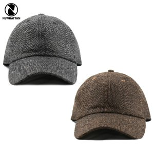 NEWHATTAN(ニューハッタン):ウール ブレンド キャップ/ヘリンボーン/メンズ&レディース/ファッション 帽子|boushikaban