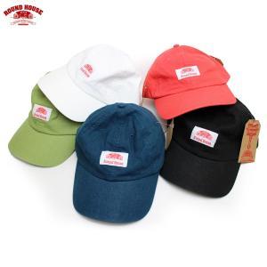 ROUND HOUSE(ラウンドハウス):ウォッシュド コットン リネン ベースボール キャップ/メンズ&レディース/ファッション 帽子|boushikaban
