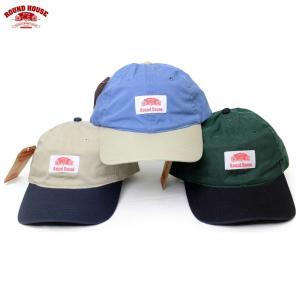 ROUND HOUSE(ラウンドハウス):ツートーンローキャップ/メンズ&レディース/ファッション 帽子|boushikaban