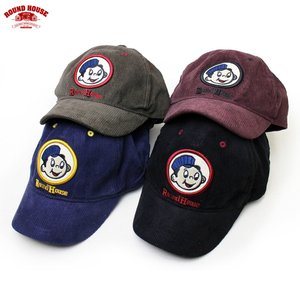 ROUND HOUSE(ラウンドハウス):ラウンドボーイ コーデュロイ ベースボールキャップ/メンズ&レディース/ファッション 帽子|boushikaban