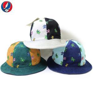 GRATEFUL DEAD(グレイトフル・デッド):グレイトフルデッド 50周年 メトロハット/メンズ&レディース/ファッション 帽子|boushikaban