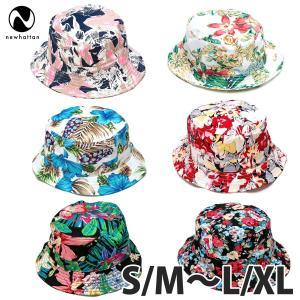 NEWHATTAN(ニューハッタン):フローラル バケットハット/メンズ&レディース/ファッション 帽子|boushikaban