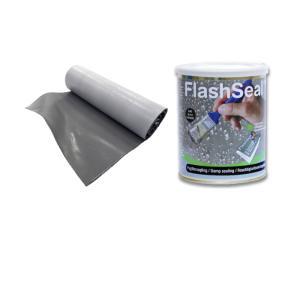 ファストフラッシュ 14cm×5m フラッシュシール 750ml 1.13kg タイセイ 1set セット価格 最安 雨漏り修理 雨漏り 140mm×5m|bousui-must