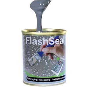 フラッシュシール 750ml 1.13kg/缶 万能防水補修塗料 雨漏り クラック ひび割れ 亀裂補修 塗るだけ 簡単補修|bousui-must