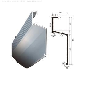 水切り材 TA-201 厚さ 1.5 規格 29×87×2000/本 防水層端末押え タイセイ|bousui-must