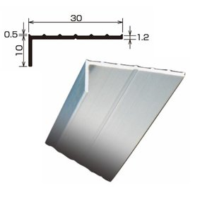 L型アルミアングル TA-31 厚さ:1.2 規格:10×30×2,000 1本 各種シート防水 FRP防水の端末押え金物 タイセイ|bousui-must