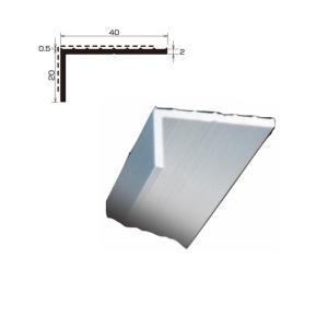 端末押え金物 L型アルミアングル TA-42 厚さ 2.0 規格 20×40×2,000/本 各種シート防水 タイセイ|bousui-must