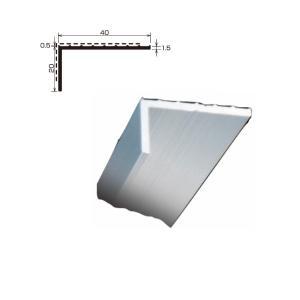 L型アルミアングル 端末押え金物 TA-49 厚さ 1.5 規格 20×40×2,000/本 各種シ...
