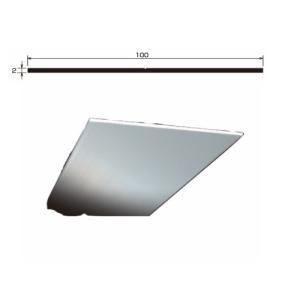 アルミフラット TF-1 厚さ 2.0 規格 100×2,000 1本 タイセイ|bousui-must