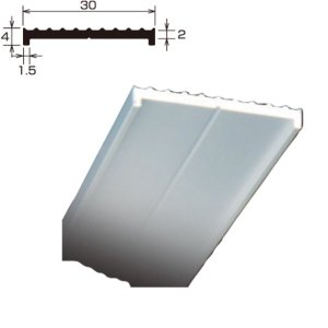 アルミフラット TF-4×43 厚さ 2.0 規格 4×30×2,000 1本 タイセイ|bousui-must