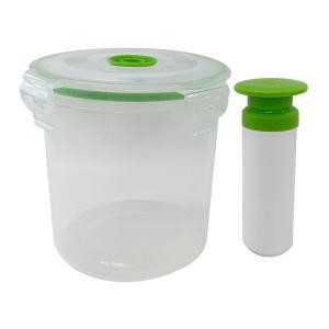 ポンプで真空保存容器 bouwhan