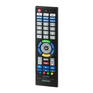 ELPA(エルパ) マルチリモコン RC-TV006UD 1746800チューナー BD テレビ