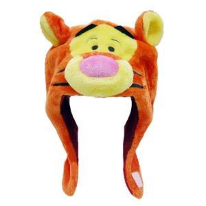人気キャラクター「ティガー」の着ぐるみキャップです。キャラクターは大好きだけど、着ぐるみはちょっと・...