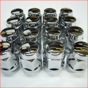 普通自動車用袋ナット 19角 PCD1.5 (19x1.5 M12) 1台分16個セット|bowers