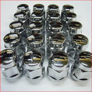普通自動車用袋ナット M12 19角 PCD1.5 (19x1.5 M12) 1台分20個セット|bowers