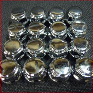 ショート袋ナット M12 19角 PCD1.25 1台分16個セット|bowers