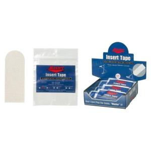 【クリックポスト可能】 Master インサートテープ(白) マスター テーピング テープ ボウリング用品 ボーリング グッズ|bowl-shoes