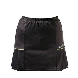 (ソシオ) SSOSIO スカートSKT-23097 ブラック(イエローライン)|bowlingcom