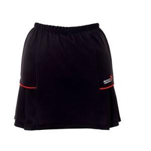 (ソシオ) SSOSIO スカートSKT-23097 ブラック(レッドライン)|bowlingcom
