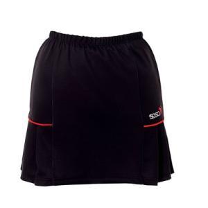 (ソシオ) SSOSIO スカートSKT-23098 ブラック(レッドライン)|bowlingcom