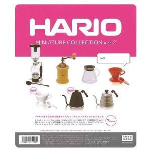 【ケンエレファント】HARIO ミニチュアコレクションver.2(7種)コンプリートセット|bowwando