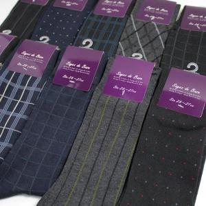 靴下 メンズ ソックス フォーマルデザイン10足セット|box408