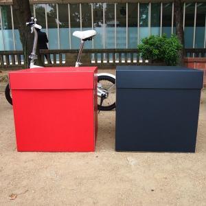 特大ボックス(赤/黒)50センチ角|boxstore-net