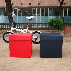 特大ボックス(赤/黒)40センチ角|boxstore-net
