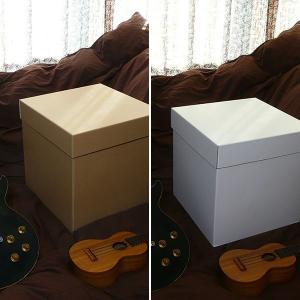 特大ボックス(クラフト/白)40センチ角|boxstore-net