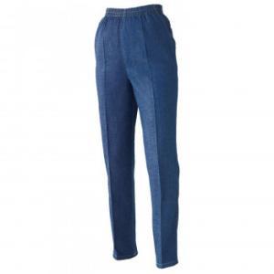 岡山デニムのゆったりパンツM 楽 伸びる ズボン カジュアル センタープレス ジーパン オシャレ レディース らくちん ジーンズ 伸縮 ゆるめ キレイめ 股上:29cm、|bozu