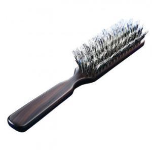 3段豚毛の少髪用ブラシ つや セット ヘア ブラッシング 髪の毛 マッサージ 天然毛 スタイリング やわらかい やさしい くし 静電気 ボリューム 21.0cm×4.0cm×3.|bozu